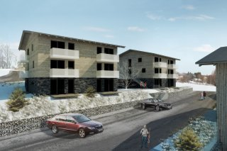 Bydlení na Bublavě - vizualizace