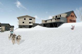 Ski Apartmány Bublava - vizualizace etap