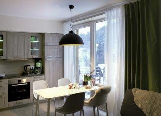 Vzorový byt - kuchyně Ski Apartmány Bublava