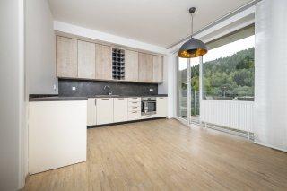 Kuchyně bytu 1 v přízemí Ski Apartmány Bublava