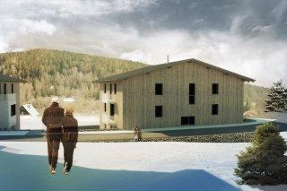 Vizualiace - Apartmány Bublava v nízkoenergetickém standardu